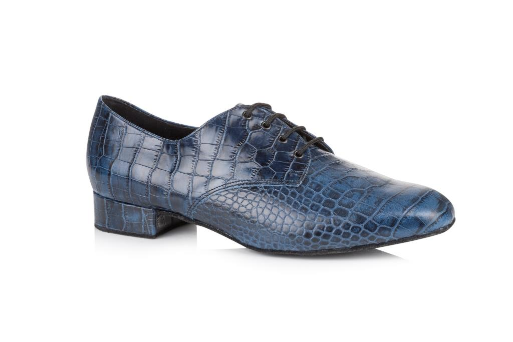 Mens Brown Lace Up Ballroom Shoes