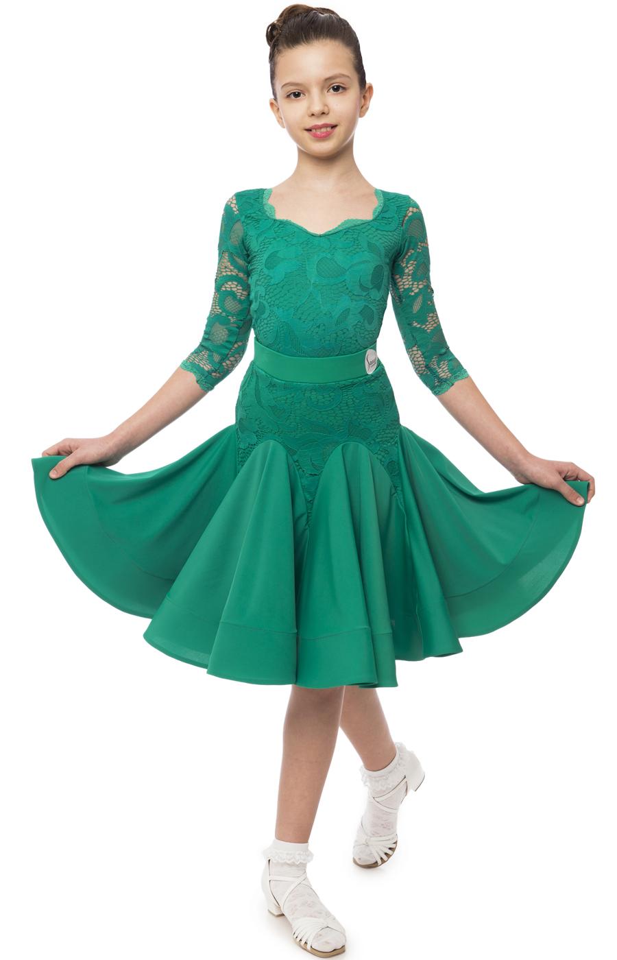 ef5cfa603970 Sasuel Debby Juvenile Dress – Tower Ballroom Dance