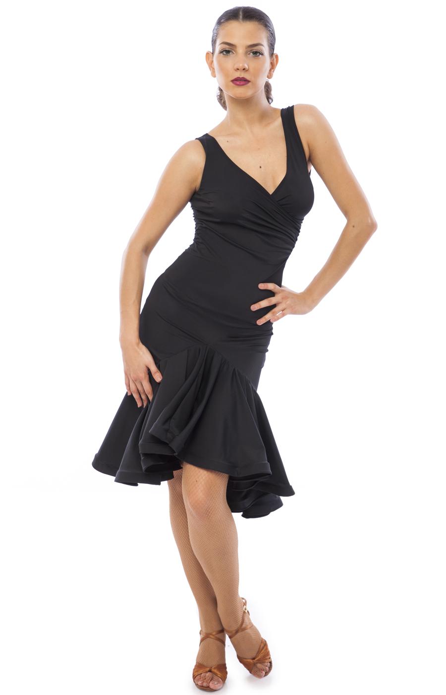 896fec134c290 Sasuel Karina Latin Practice Dress – Tower Ballroom Dance
