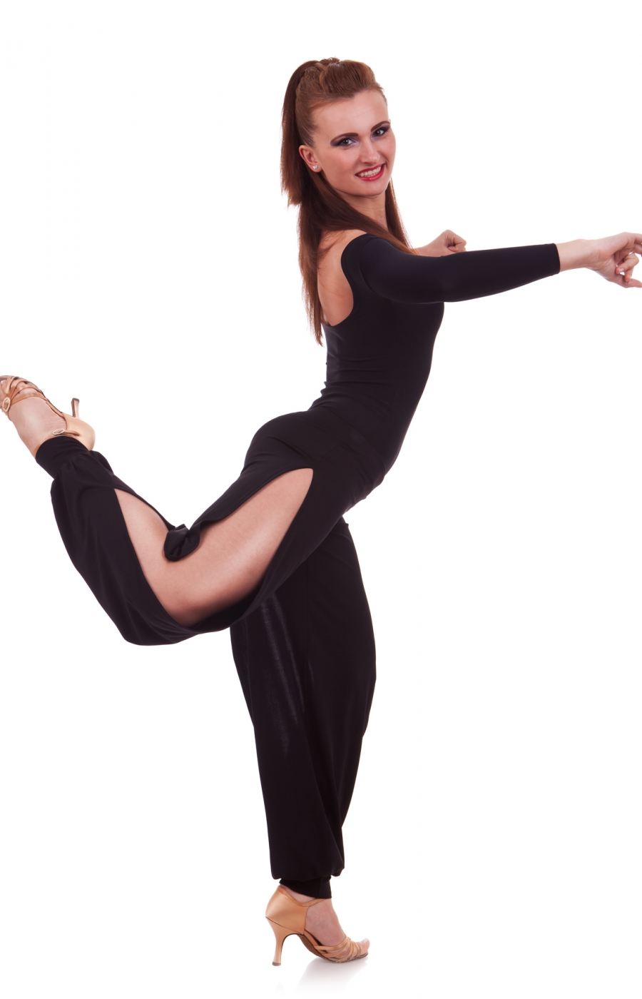 653168698 Sasuel Practice Salsa   Tango Pants – Tower Ballroom Dance
